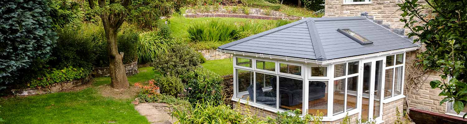 equinox tiled roof system installed in a traditional victorian conservatory