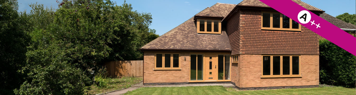 house fitted with a++ rated modus energy efficient windows and doors