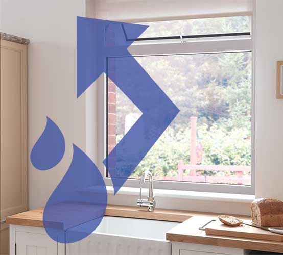 how to get rid of condensation on windows