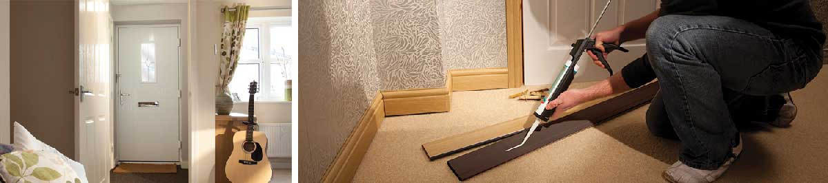 flood resistant skirting boards