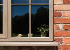 Modus window installed by H Jarvis
