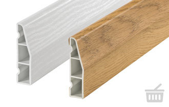 chamfered architrave
