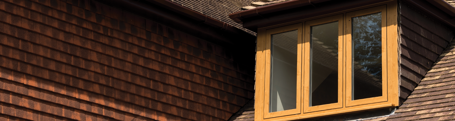 wooden style casement windows