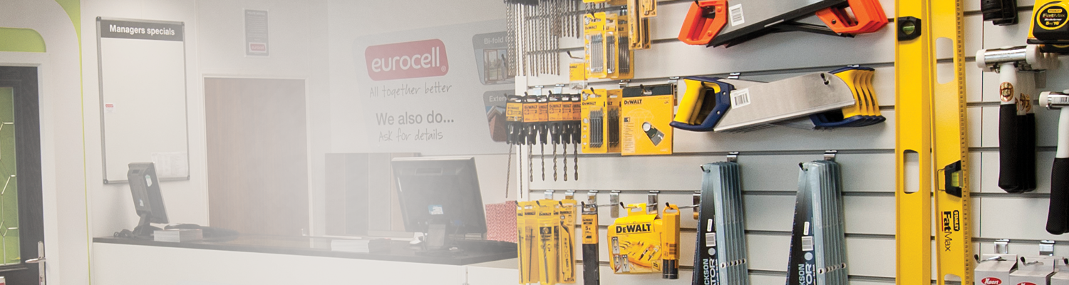 eurocell's hand tools and power tools in branch
