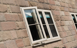 triple coloured upvc windows