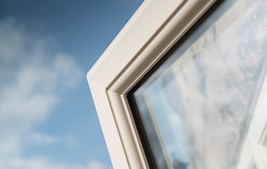 white upvc a+ rated windows
