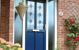 traditional upvc front doors
