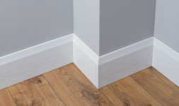 Easy fit and attractive skirting boards and internal cladding.