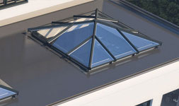 Bring natural light into your home with a lantern roof.