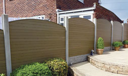 None slip decking, fencing and more for your garden.