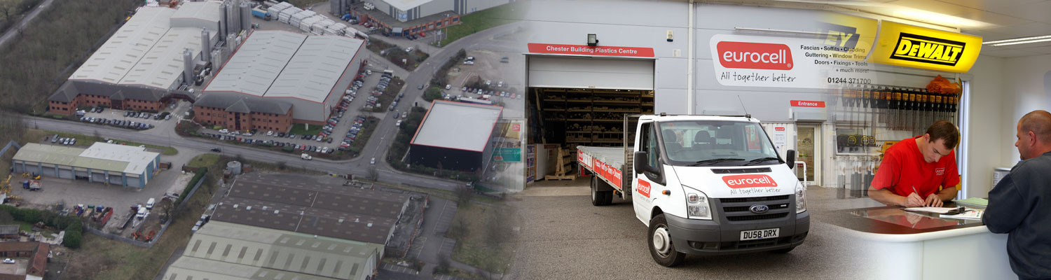 eurocell branch, vans and warehouses
