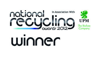 Eurocell wins in the Materials Recycler of the Year (Large) category