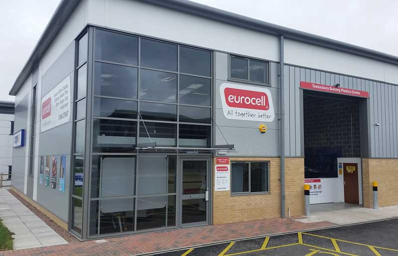 Eurocell opens new UPVC branch in Tewkesbury