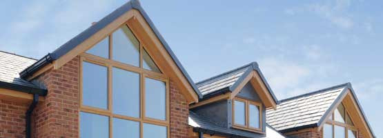 wooden style fascias and soffits