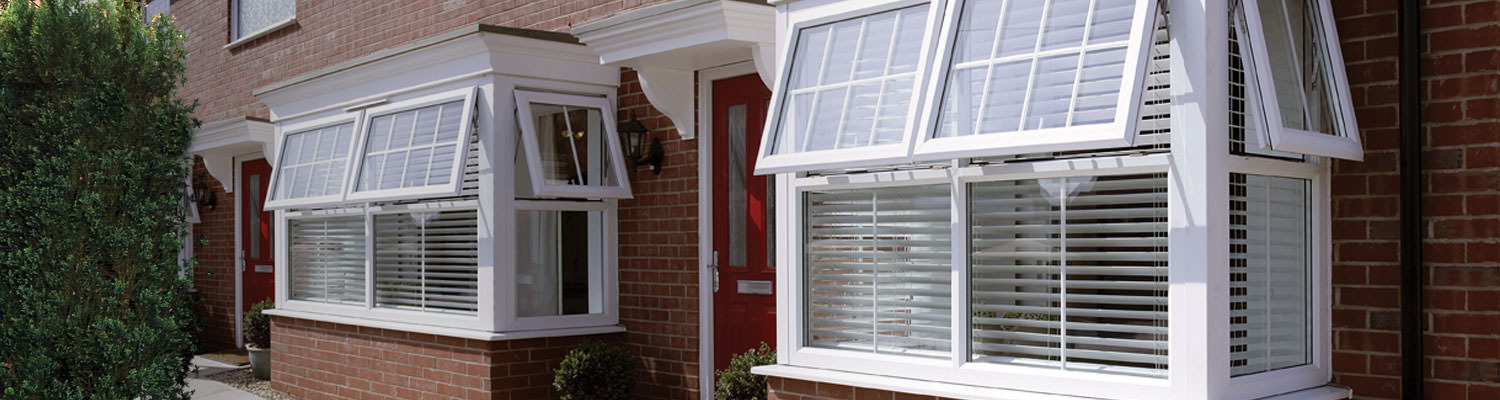 Pvcu casement windows eurocell for Energy efficient bay windows