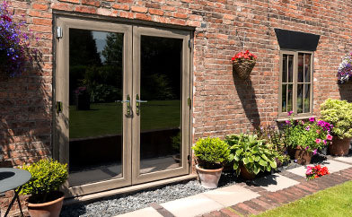 traditional french patio doors