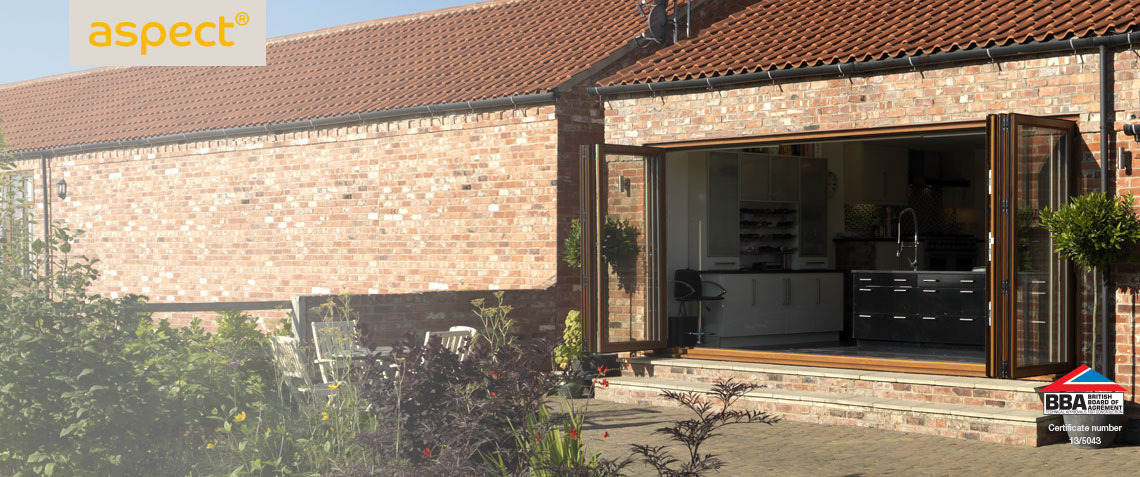 aspect bifold patio doors