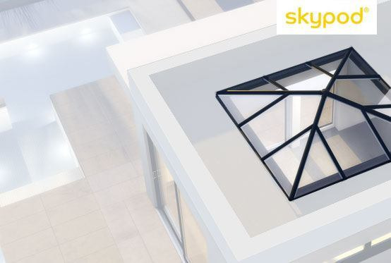 Skypod Square Skylights
