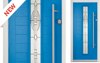 The Newhaven offers the perfect balance between traditional looks and contemporary design. The unique characteristics of horizontal boarding coupled with a long bar handle make this door style an ideal solution for both cottage styles and new build properties.