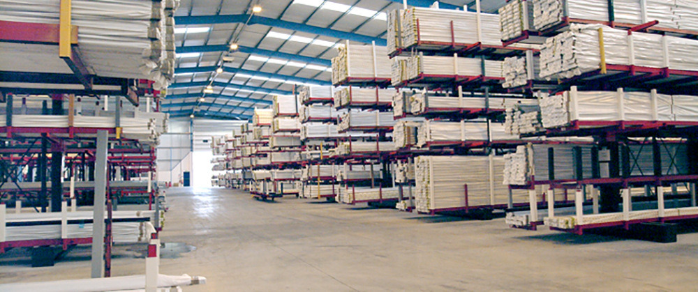 eurocell upvc product distribution warehouse in 2002