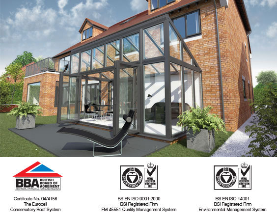 coloured bespoke conservatory accreditations