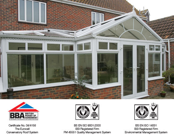 bba certified upvc gable ended conservatory