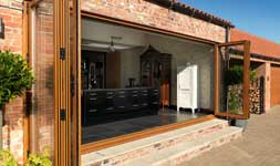 Style meets security. Composite doors, bi fold doors and more.