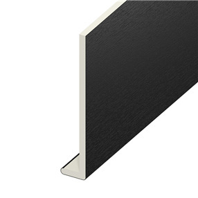 225mm Capping Board in Black on White x 5m