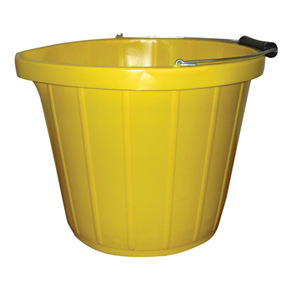 Heavy Duty Yellow Bucket