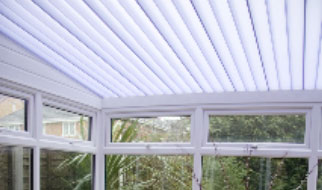 Conservatory with everlite enduro conservatory roof system installed