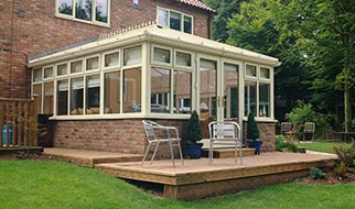 Cream Conservatories Now Best-Selling