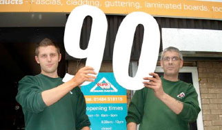 Eurocell Huddersfield Is 90th Branch