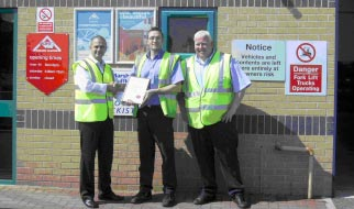 Eurocell Alfreton Branch Awarded For Safety