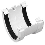 XL Gutter Union Bracket in Black