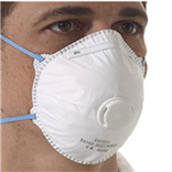 Valved Safety Mask - Box 10
