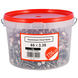 Aluminium Clout Nails - 1kg