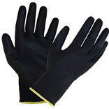 Black PU Foam Coated Knitwrist Gloves