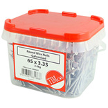 Galvanised Round Wire Nails - 2.5kg Box