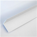 40mm x 40mm Rigid Angle in White x 5m
