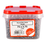 Bright Round Wire Nails - 2.5kg