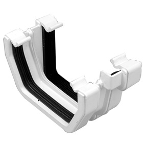 Square Plus To Square Adaptor Left Hand in White