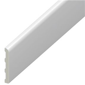 40mm Pencil Round Architrave in White x 5m