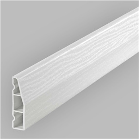 60mm Chamfered Architrave in White Satin x 5.5m