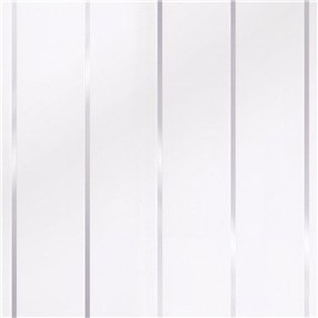 Decor Cladding Embeded High Gloss 8mm - In White Silver
