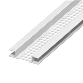 10mm Soffit Vent in White x 5m