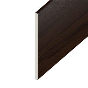 300mm Utility Board in Rosewood on White x 5m