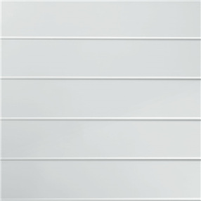 Decor Cladding Hi Gloss 8mm - In White