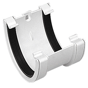 XL Gutter Union Bracket in White