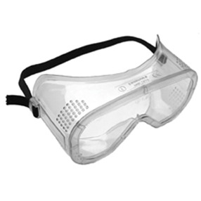 Clear Lens Safety Vented Goggles