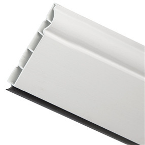 100mm Ogee Skirting Board in White Satin x 5m